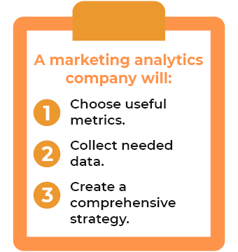 A marketing analytics company will help your company develop a strong data-driven strategy.