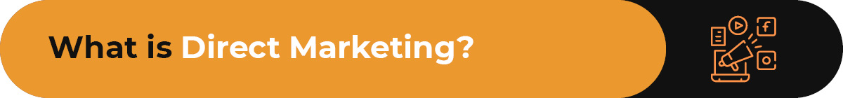 What is direct marketing for nonprofits?