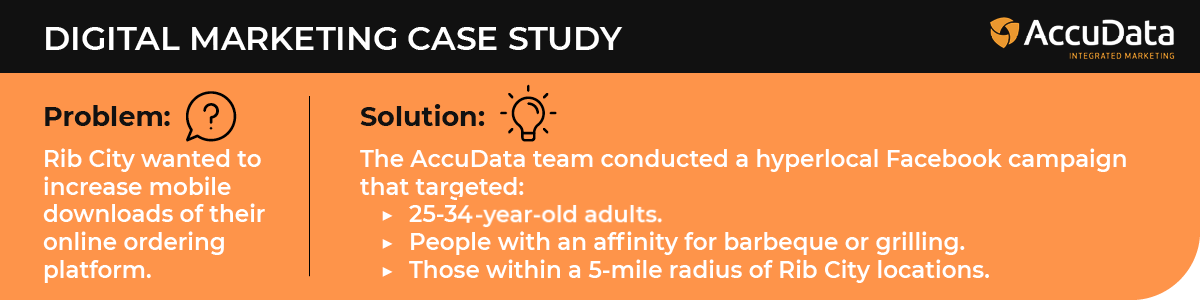 In this case study, explore digital marketing-- a popular database marketing service.