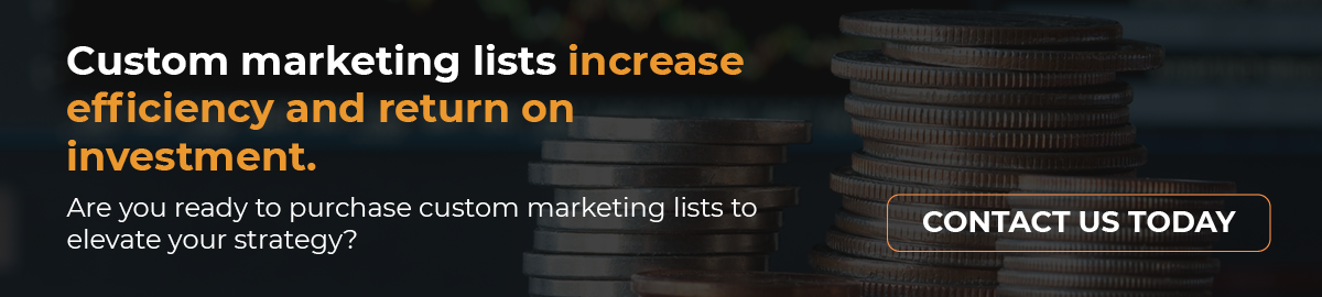 Contact AccuData today to purchase marketing lists.