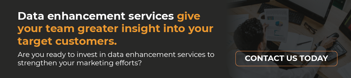 Contact us today to learn more about our data enhancement services.